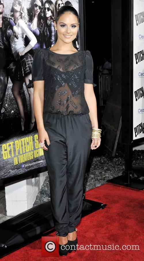 Pia Toscano  Los Angeles premiere of 'Pitch...