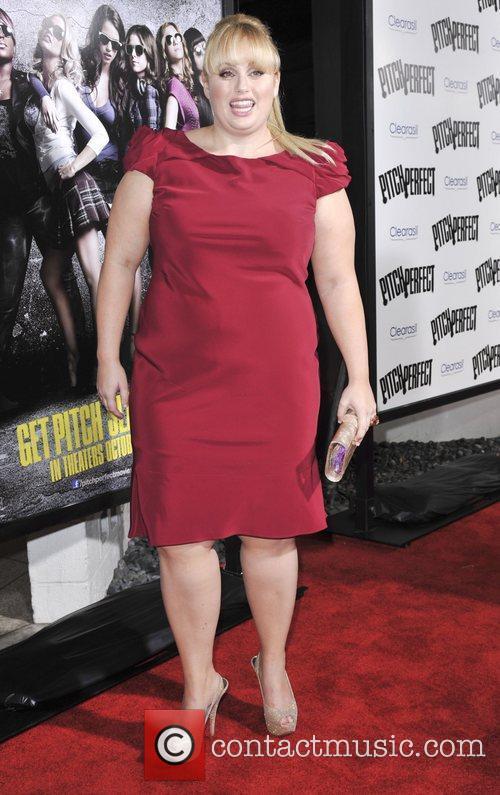 Rebel Wilson  Los Angeles premiere of 'Pitch...