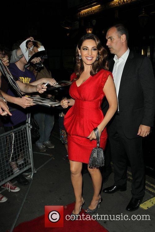 Kelly Brook and Odeon West End 2