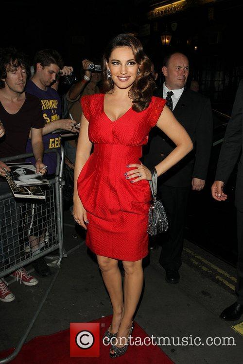 Kelly Brook and Odeon West End 3