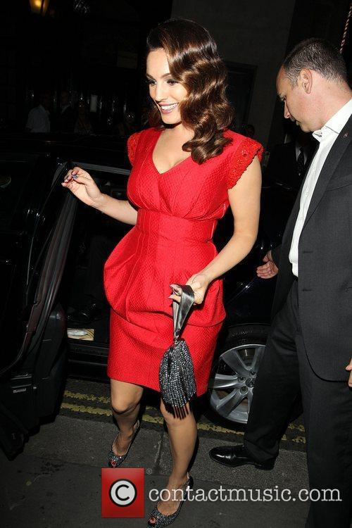 Kelly Brook and Odeon West End 4