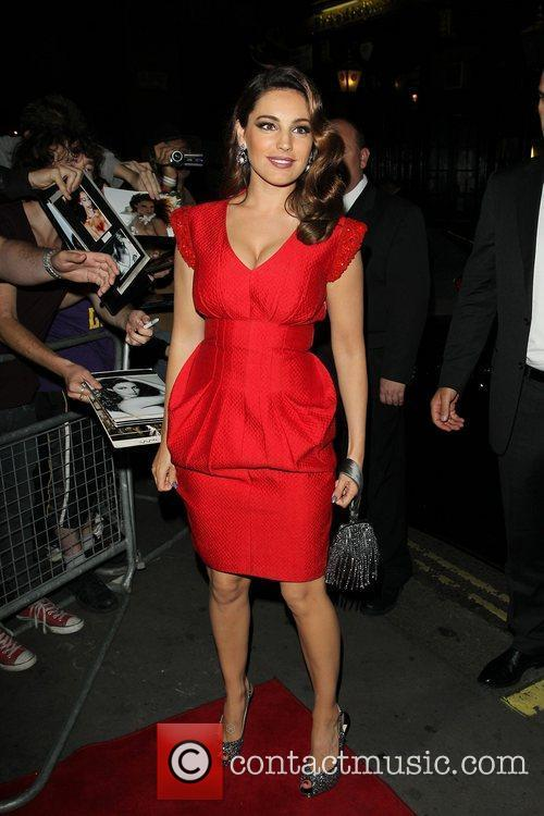 Kelly Brook and Odeon West End 6