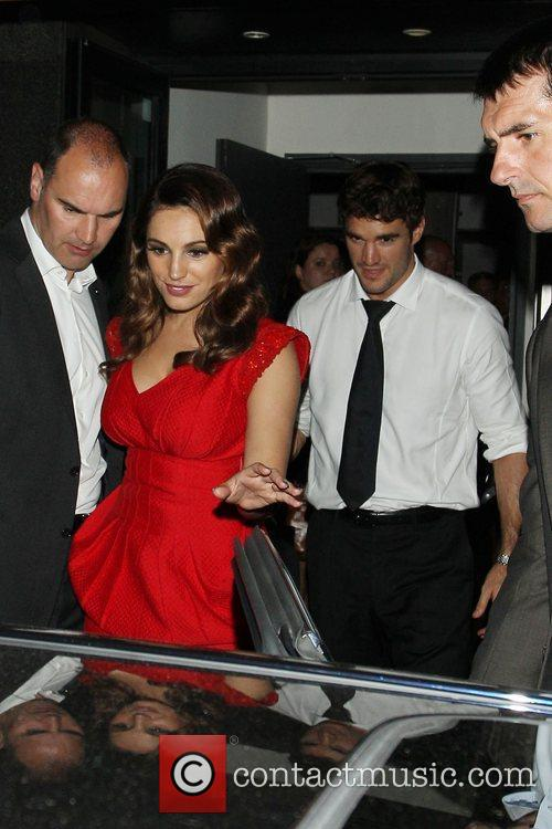 Kelly Brook and Odeon West End 7