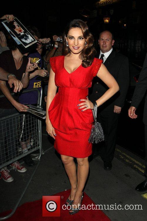 Kelly Brook and Odeon West End 9
