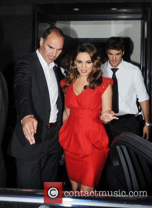 Kelly Brook and Odeon West End 11