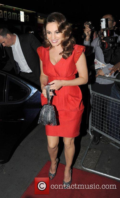 Kelly Brook and Odeon West End 1