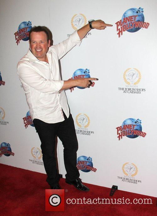 Nathan Burton Planet Hollywood restaurant grand re-opening inside...