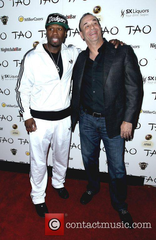 50 Cent and Tao Nightclub 4