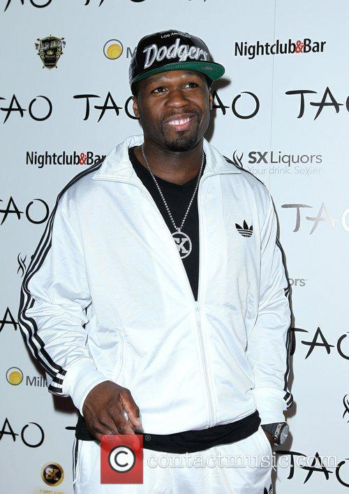 50 Cent and Tao Nightclub 6
