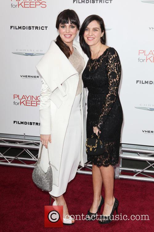 New York premiere of 'Playing For Keeps' at...