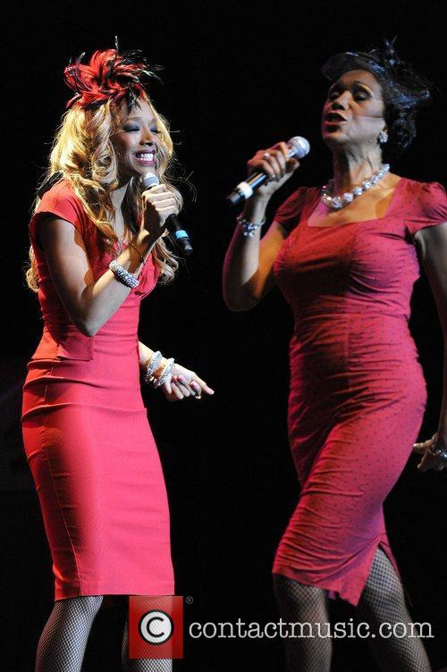 Anita Pointer, Ruth Pointer The Pointer Sisters perform...