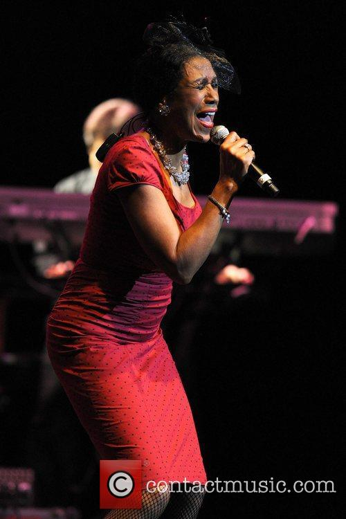 Ruth Pointer The Pointer Sisters perform at Hard...