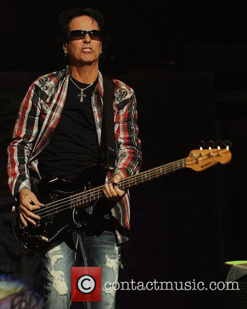 Poison performs during the Rock of Ages Tour...