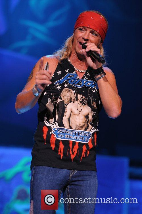 bret michaels poison performs during the rock 5891316