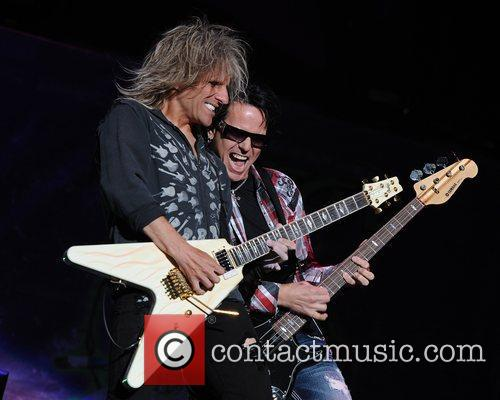 C.C. Deville and Bobby Dall  Poison performs...