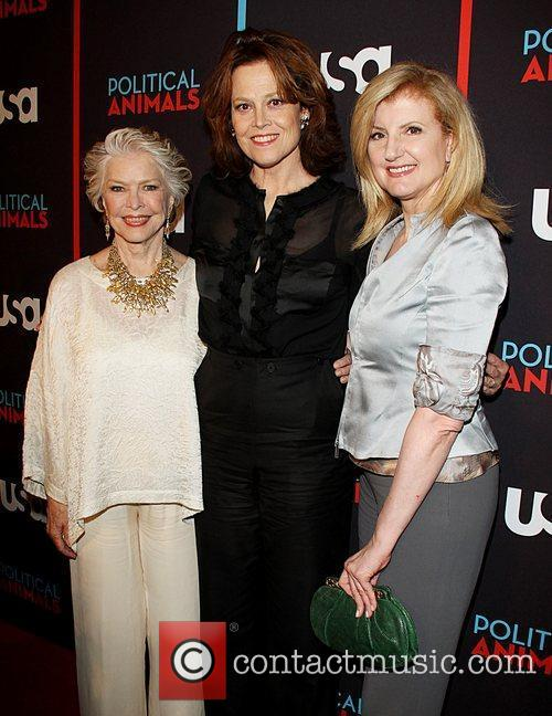 Ellen Burstyn, Arianna Huffington and Sigourney Weaver 2