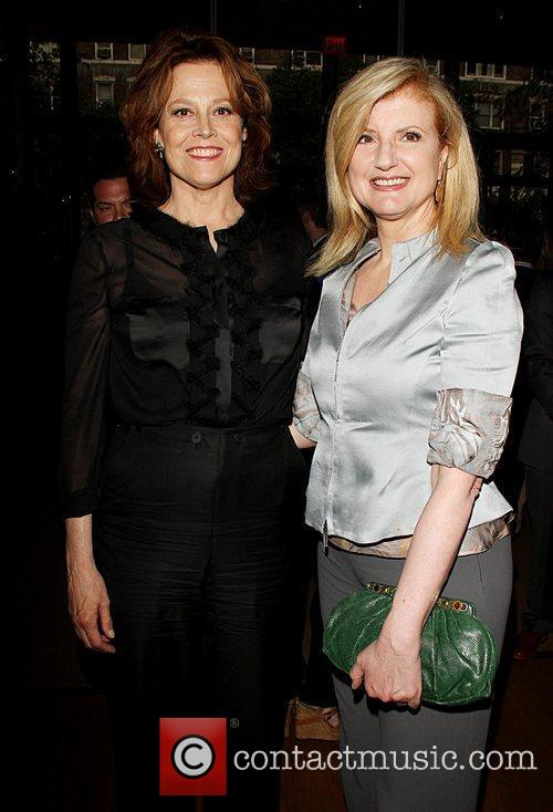 Sigourney Weaver and Arianna Huffington 2