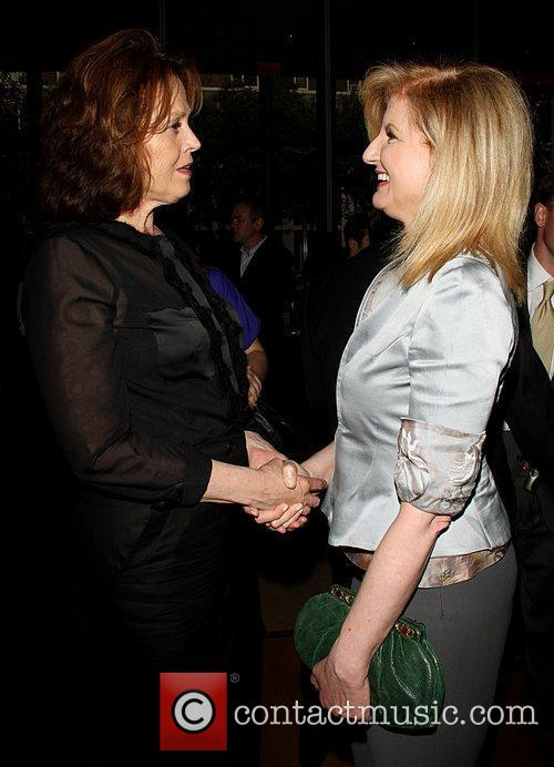 Sigourney Weaver and Arianna Huffington 3