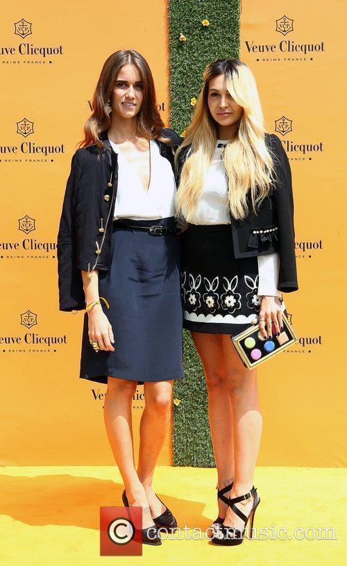 Jade Williams and Zara Martin Veuve Clicquot Gold...