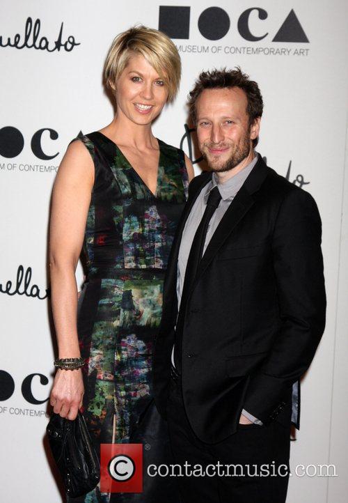 Jenna Elfman, Bohdi Elfma Grand opening of Pomellato...