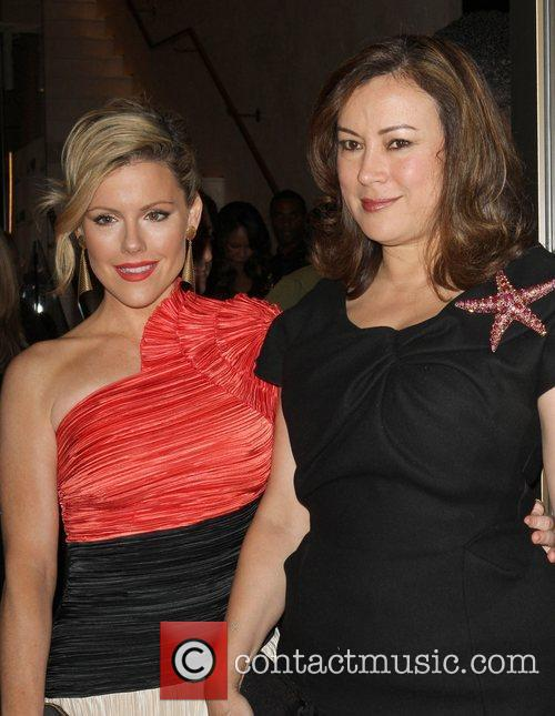 Kathleen Robertson and Jennifer Tilly Grand opening of...