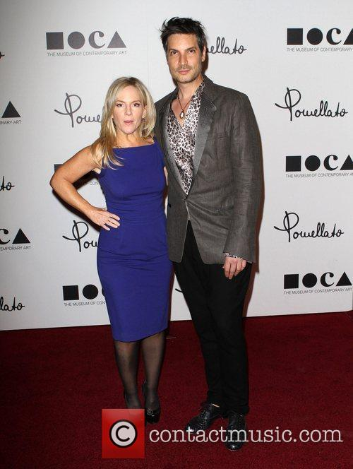Rachael Harris and Cameron Silver Grand opening of...