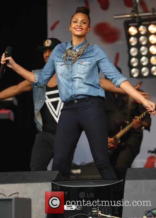 Alesha Dixon and Trafalgar Square 6
