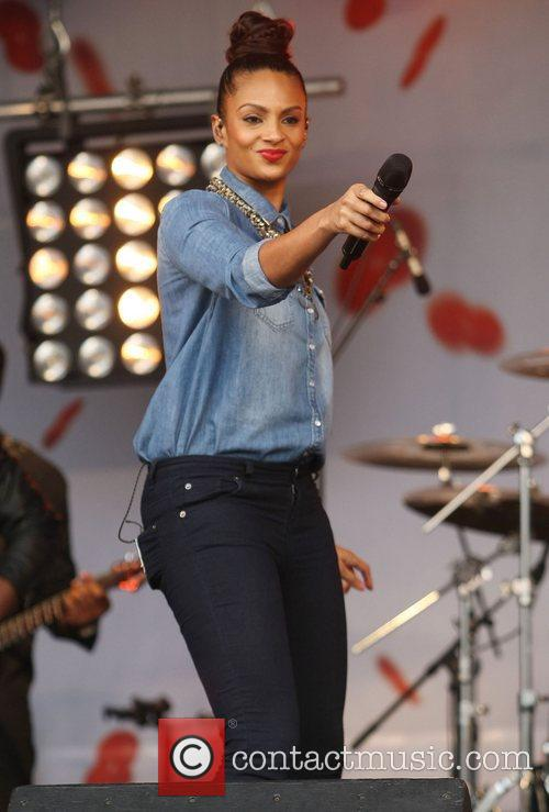 Alesha Dixon and Trafalgar Square 10