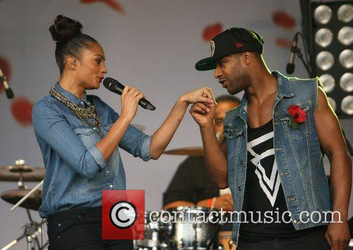 Alesha Dixon and Trafalgar Square 4