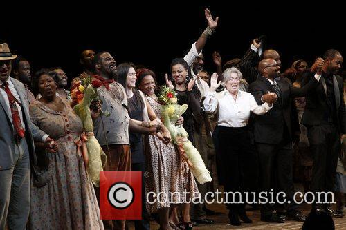 Broadway opening night of 'The Gershwins' Porgy and...