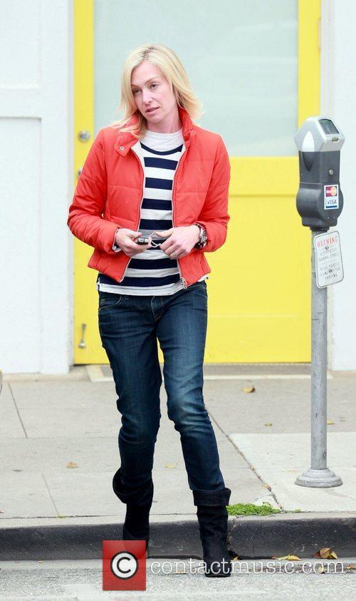 Portia de Rossi leaving a salon in Beverly...