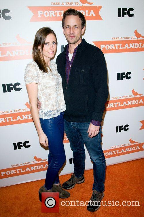 Seth Meyers The second season premiere of 'Portlandia'...