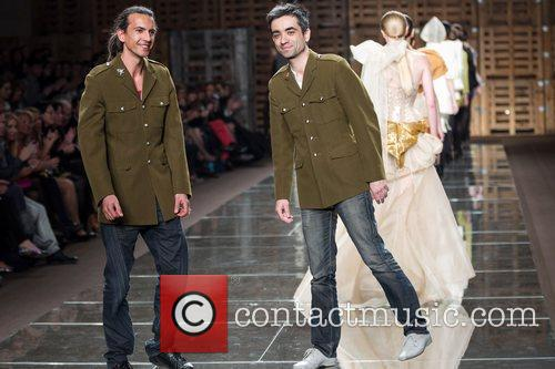 Joao Branco and Luis Sanchez Portugal Fashion Week...