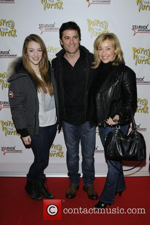 Yannick Bisson and family members  Potted Potter:...