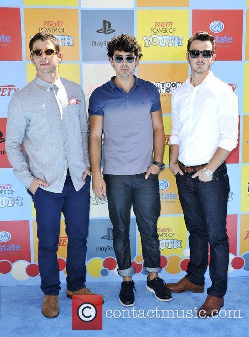 Joe, Kevin, Nick Jonas  Variety's Power of...