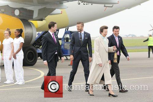 David Beckham and Princess Anne 1