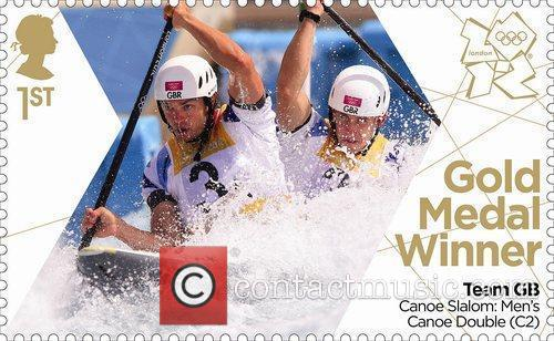 The latest Team GB Gold Medal Winners Stamps...