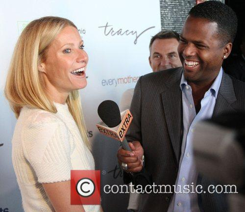 The Tracy Anderson Method Pregnancy Project launch party...