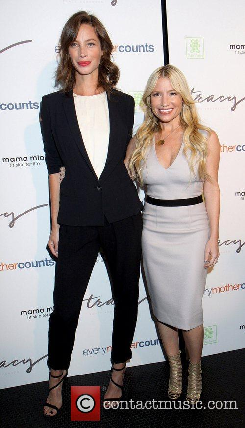 Christy Turlington and Tracy Anderson The Tracy Anderson...