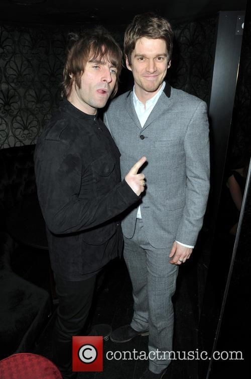 Liam Gallagher, Jesse Wood and Pretty Green Clothing 1