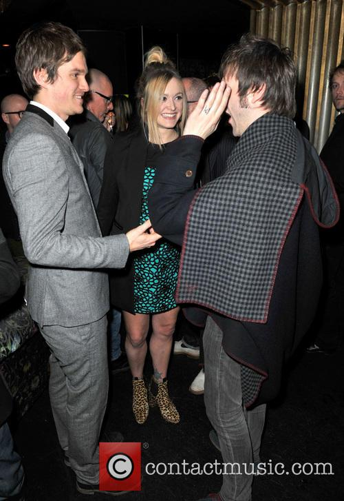 Tom Meighan, Jesse Wood and Fearne Cotton 9