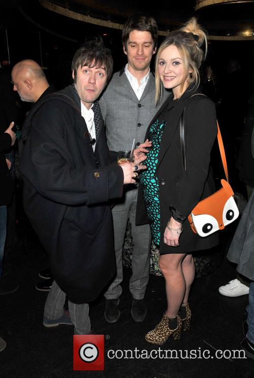 Tom Meighan, Jesse Wood and Fearne Cotton