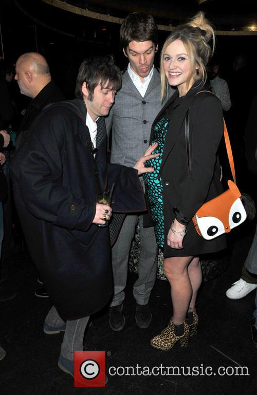 Tom Meighan, Jesse Wood and Fearne Cotton 5