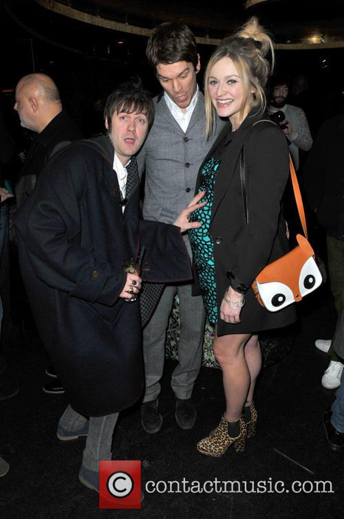 Tom Meighan, Jesse Wood and Fearne Cotton 11