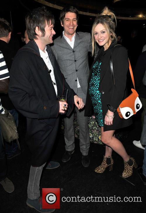 Tom Meighan, Jesse Wood and Fearne Cotton 6