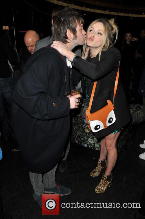 Tom Meighan, Jesse Wood and Fearne Cotton 3