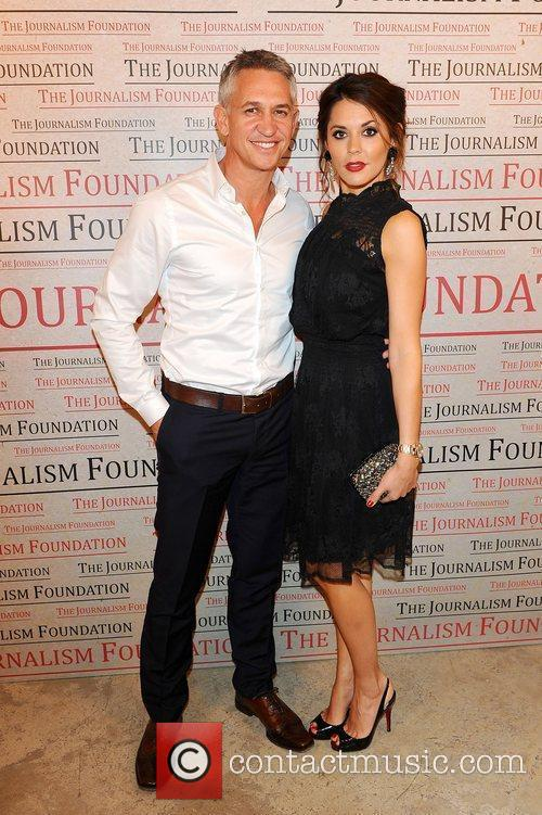 Gary Lineker and Danielle Lineker at the A...