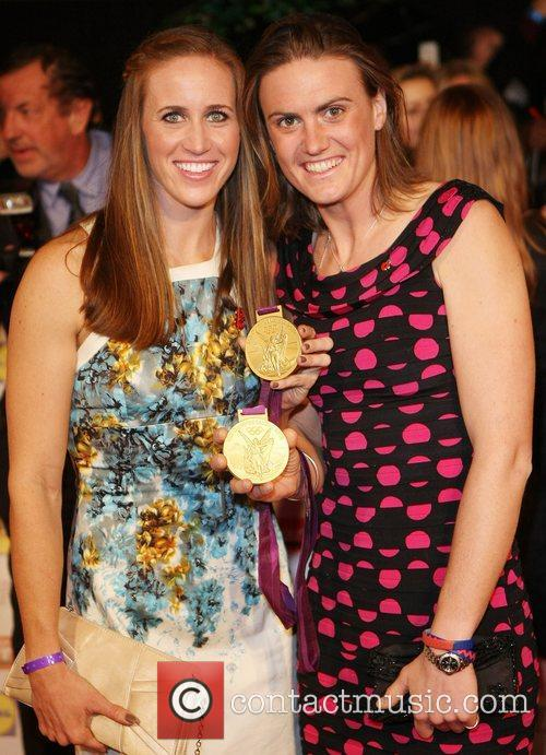 Helen Glover, Heather Stanning and Grosvenor House 1
