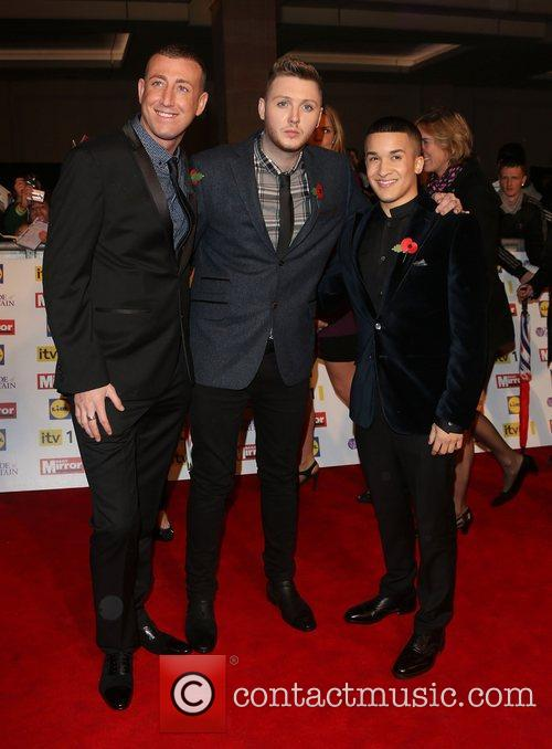 Jahmene Douglas, James Arthur, Christopher Maloney and Grosvenor House 2