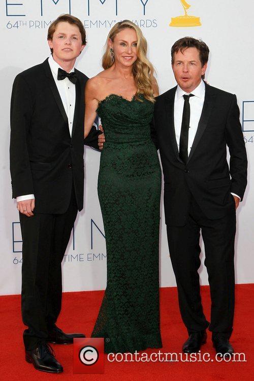 Sam Fox, Tracy Pollan and Michael J. Fox 1